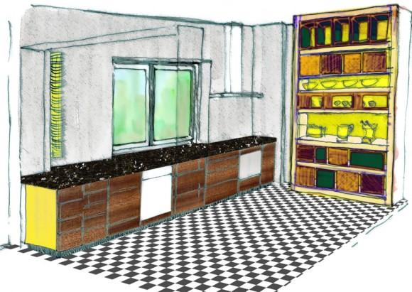 Küche Entwurf G