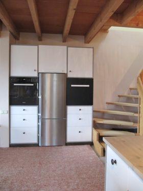 Kühlschrank im Schrank
